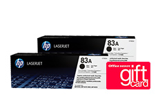 Free $20 Office Dept Gift Card when you buy 2 HP Toners