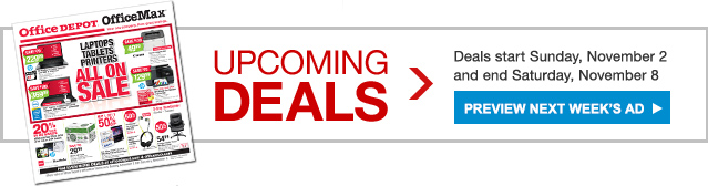 Upcoming Deals - preview next week's ad